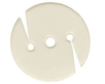"12 Qtyosborne-nylon Poly Washer For Super Hook, 1 3/8"" Diameter (74747)"