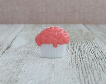 Cupcake - Dessert - Bakery - Baker - Cafe - Coffee - Celebrate - Party - Lapel Pin