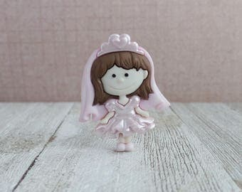 Bride - Dress Up - When I Grow Up - Little Girl - Wedding Day - Dreams - Lapel Pin