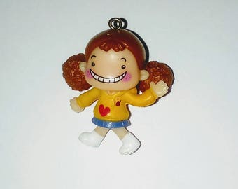 X 1 baby girl and her braids kawaii 40mm