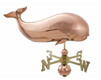 Moby Dick Whale Weathervane