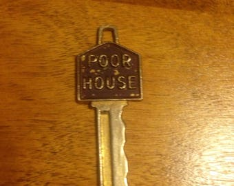Vintage Poor House Key