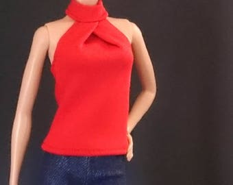 Tops for Barbie,Muse barbie,Tall barbie, FR, Silkstone -No. 0047
