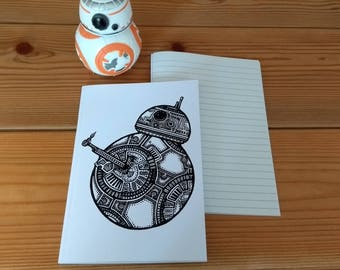 BB-8 notebook (A6 lined)