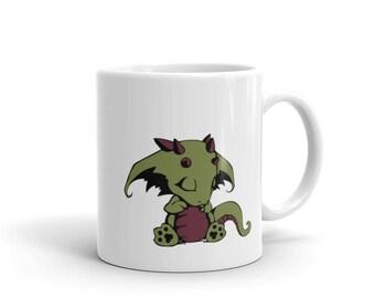Sleeping Baby Dragon Mug