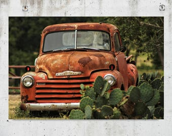 vintage chevrolet truck logo. cactus chevy vintage chevrolet truck rustic photography dripping springs logo