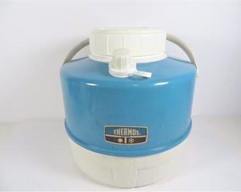 Vintage Turquoise Thermos Brand Picnic Jug
