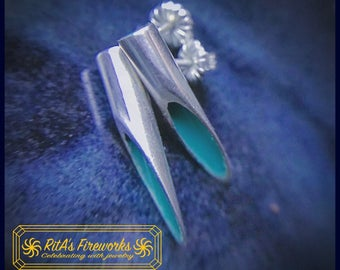 Slice of Life Sterling Silver Earrings