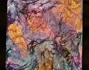 Colorful Textured Painting