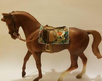 Model horse square pad