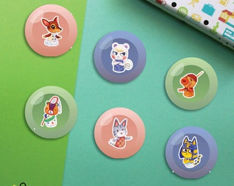 Villagers #2 Buttons | Animal Crossing New Leaf
