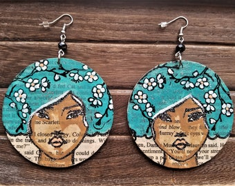 Flower Fro Earrings