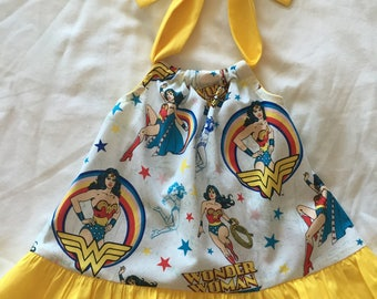 Wonder Woman Dress for Baby and Toddlers