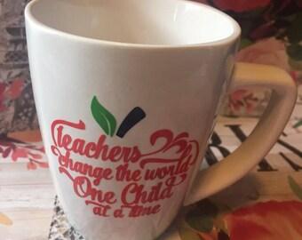 Teacher's Appreciation Mugs