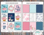 May Designer Boxes Planner Stickers