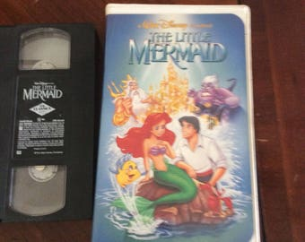 Vintage , VCR Movie, The Little Mermaid , good condition