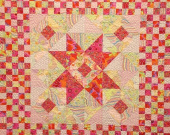 A Star Is Born - Starlight -  Quilt Pattern  Designed by Sew Colorful