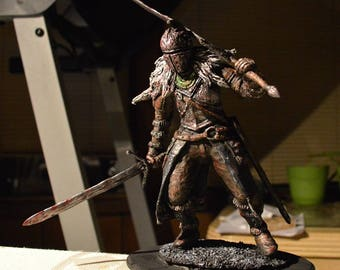 Dark Souls 2 Faraam Knight statue handmade limited edition