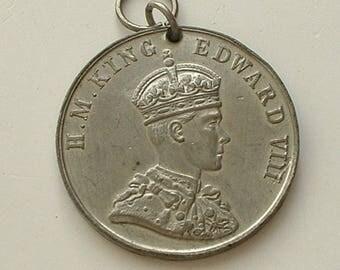 Edward VIII coronation medal