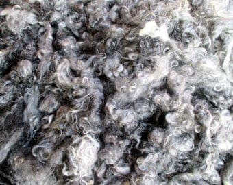 Washed Gotland wool, 400 g, sheared in March, 2017, Uppsala, Sweden, fleece no 37, Made in Sweden, heritage wool breed, pure gotland wool