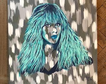 Stevie Nicks Canvas Painting
