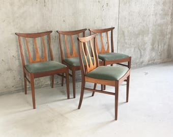 G Plan Style Dining Chairs Set of 6