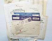 Vintage Ephemera & Invoices