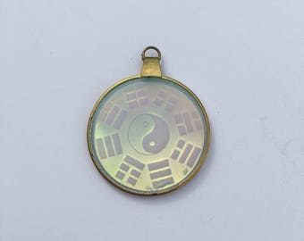 VTG 70's Holographic Yin Yang Charm