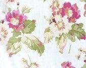 Cotton floral yardage, vintage-inspired, vintage fabric, cotton fabric, fabric by the yard, floral fabrics