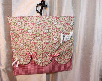 Clothespins or other bag that can be hung