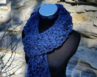 Infinity Scarf, Blue scarf, Blue Scarf, Infinity, Infinity Cowl, Infinity scarf, Chunky scarf, Chunky infinity, Long Scarf, circle scarf