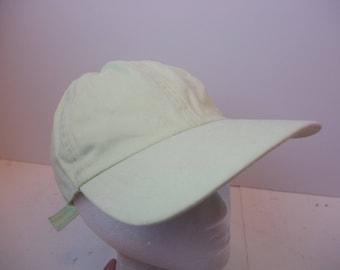 90s Low profile minimal blank plain hat