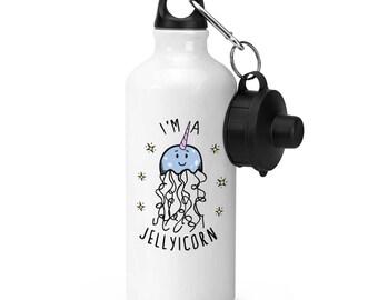 I'm A Jellyicorn Sports Bottle