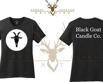 Black Goat Candle Co. Girly Style T-shirt