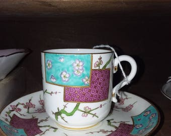 Vintage Demitasse Cup & Saucer English Tea party