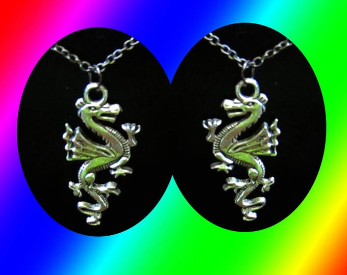 Dragon Pendant and Chain