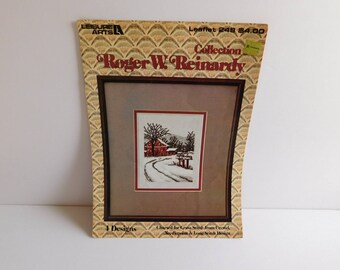 Roger W. Reinardy Collection Counted Cross Stitch Pattern Leisure Arts