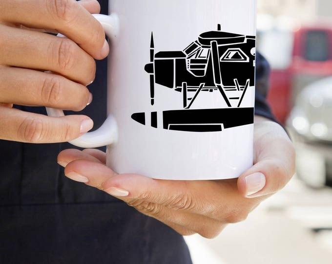 KillerBeeMoto:  U.S. Made de Havilland Canada DHC-2 Beaver Airplane Coffee Mug