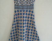 vintage cotton 70s summer dress