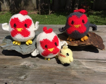Harvest Moon Chicken Plushies