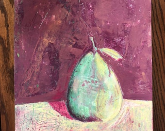 Pear painting 3