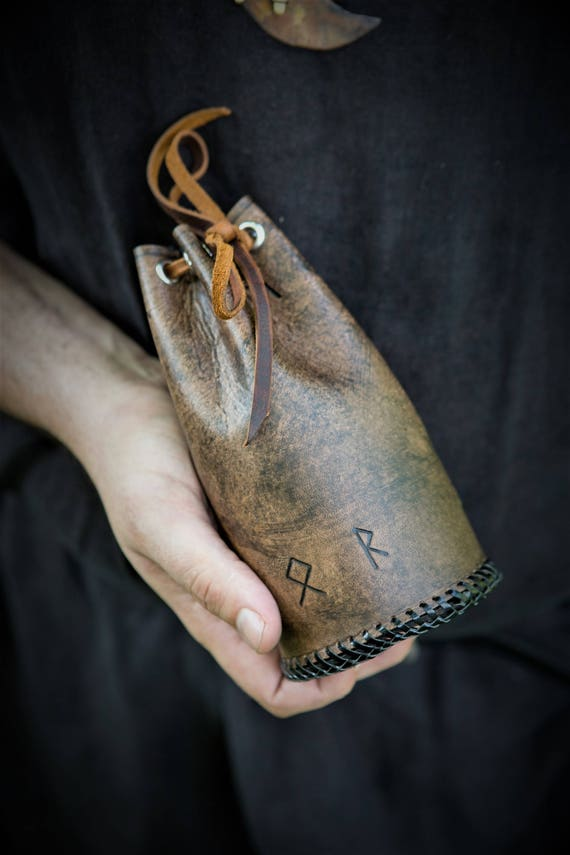 Viking Elder Futhark Rune Pouch