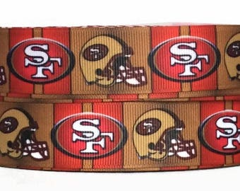 49ers Fabric Etsy