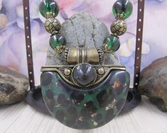 Gorgeous Boho Style Vintage Statement Necklace