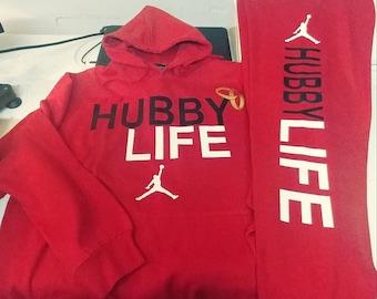 Hubby life hoodies