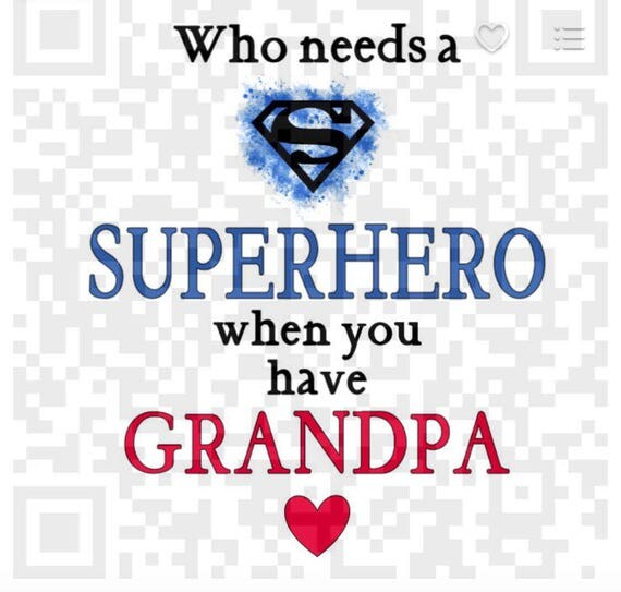 Sublimation template, Who needs a Superhero when you have Grandpa PNG, Sublimation artwork, Digital art prints, printable transfer