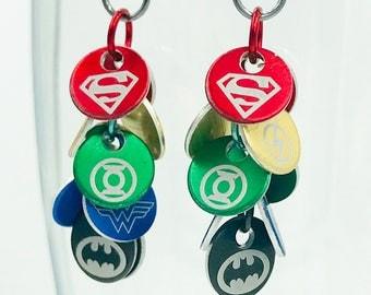 Handmade Justice League Dangles