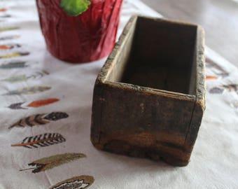 Wood Box (no lid)