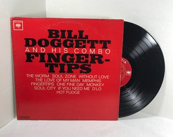 Bill Doggett And His Combo Fingertips vinyl record 1963 Rhythm & Blues, Soul Jazz VG