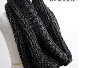 Chunky knit cowl hood, Knit infinity scarf, oversized chunky scarf, blanket scarf, winter knit cowl, knitted hood, knit cowl, winter scarf